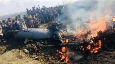 В Пакистане военные сбили два самолета ВВС Индии