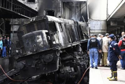 Авария на железнодорожном вокзале в Каире произошла из-за ссоры пассажиров