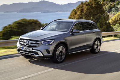 Mercedes-Benz показал обновленный GLC