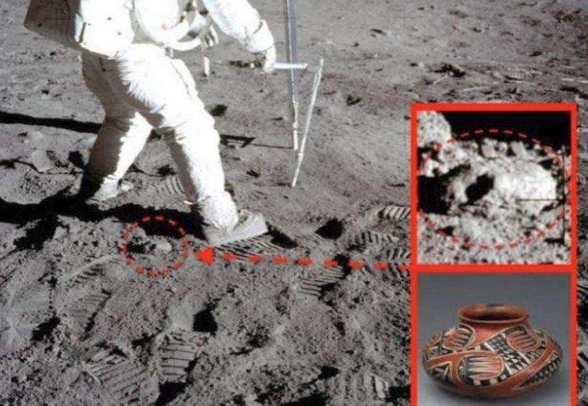 На снимках Луны обнаружены неизвестные артефакты