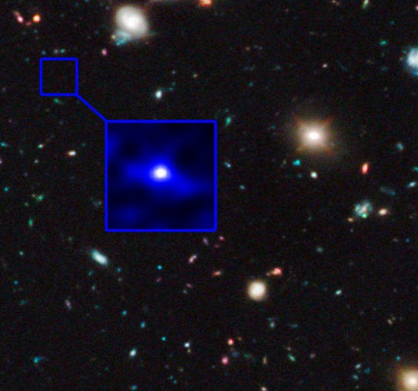 Астрономы зафиксировали звёздную вспышку колоссальной мощности