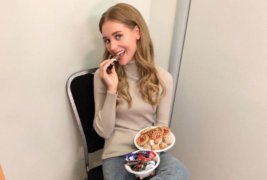 Кристина Асмус призналась в любви к фастфуду