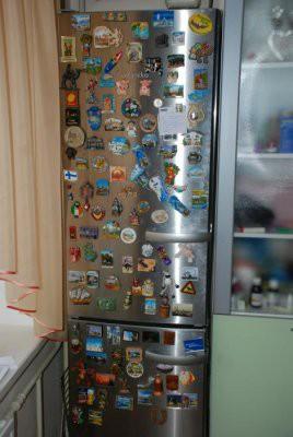 Магниты на холодильниках могут нести опасность для здоровья.
