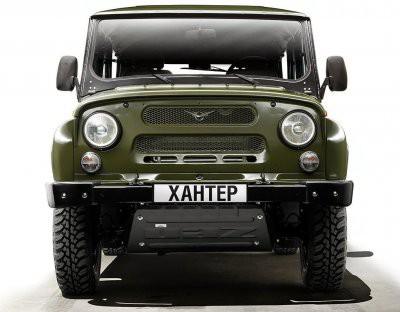 УАЗ выпустил обновленный внедорожник «Хантер»
