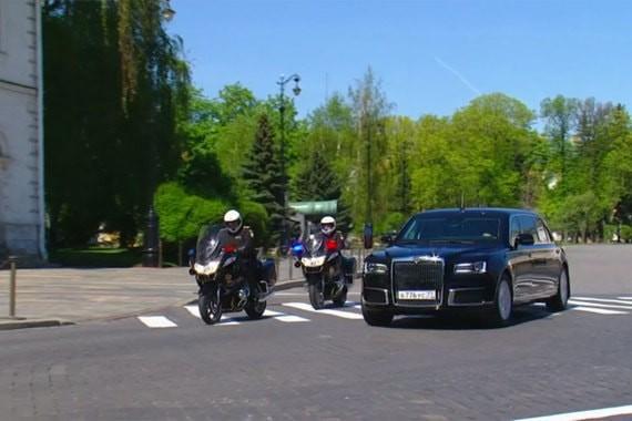 СМИ: В Женеве состоялась презентация российских автомобилей Aurus