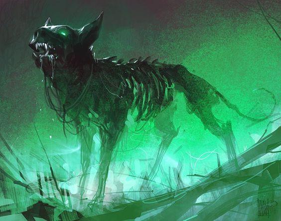 Демоническая собака из Северной Каролины