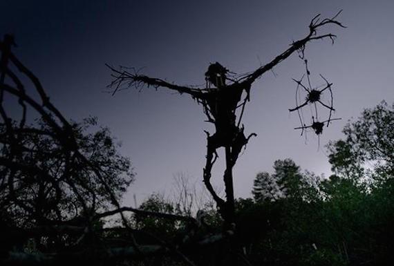 Встречи со Стикменами - существами, словно созданными из палок