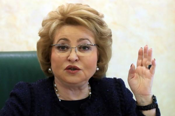 Россияне удивились размеру пенсии Валентины Матвиенко