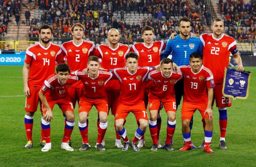Россия сыграет с Казахстаном в рамках отбора на ЧЕ 2020