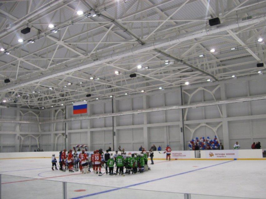Впервые в России: открытие ледового дворца в условиях среднегорья
