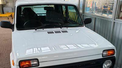 Появились фото праворульной LADA 4x4 Pickup