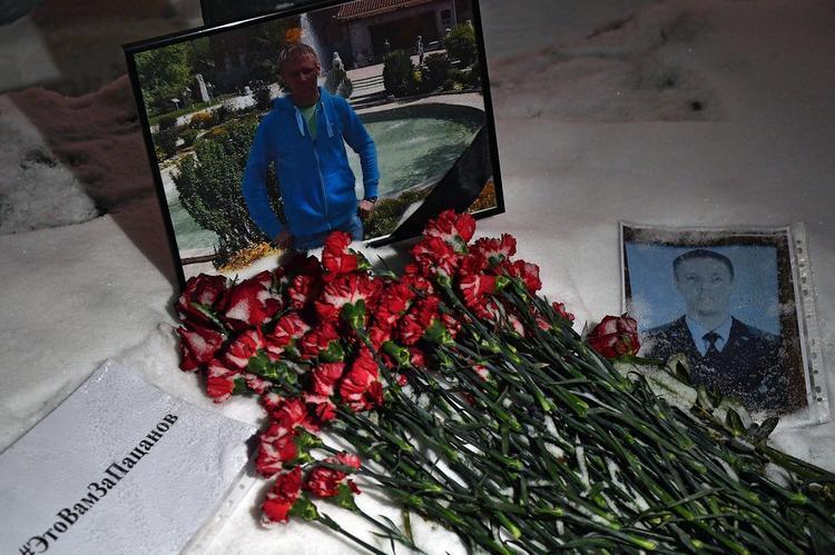 Проводить в последний путь Романа Филипова пришли десятки тысяч жителей Воронежа