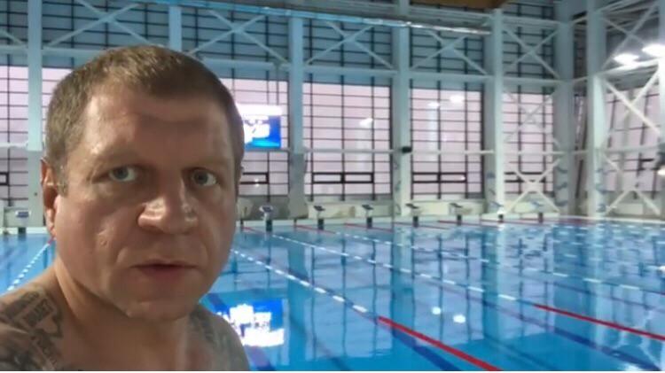 """Александр Емельяненко в своем Инстаграм провел экскурсию по базе """"Юг-Спорт"""" в Кисловодске"""