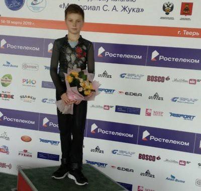 12-летний российский фигурист Максим Белявский выполнил пятерной тулуп: видео