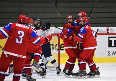 Финал ЮЧМ-2019 по хоккею: Россия - Швеция счет 3:4