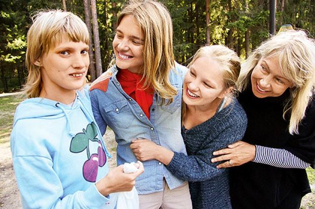 Сестра Натальи Водяновой призналась, что одевается в сэконд-хенде