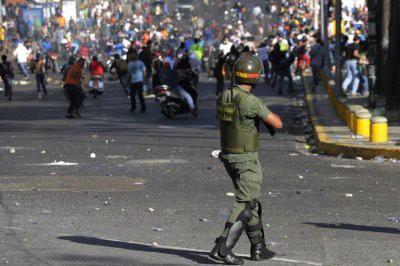 Военные попыталась устроить переворот в Венесуэле