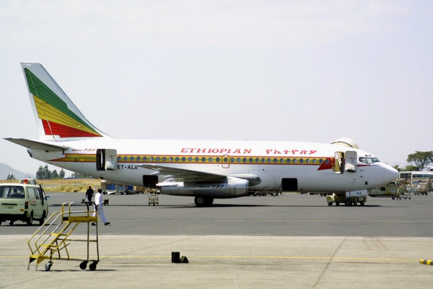 Эфиопский «Боинг» рухнул после столкновения с неизвестным объектом