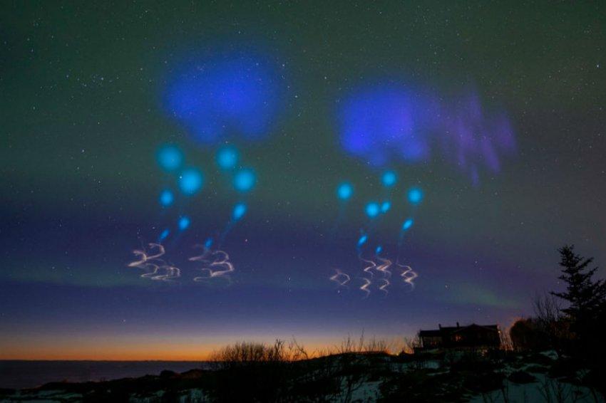 Норвежцы стали массово заявлять об НЛО в небе