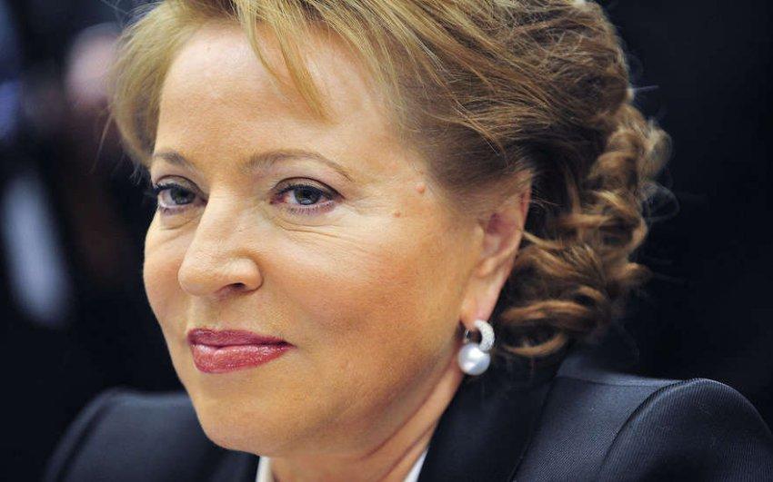 Пенсионный фонд может возглавить Валентина Матвиенко