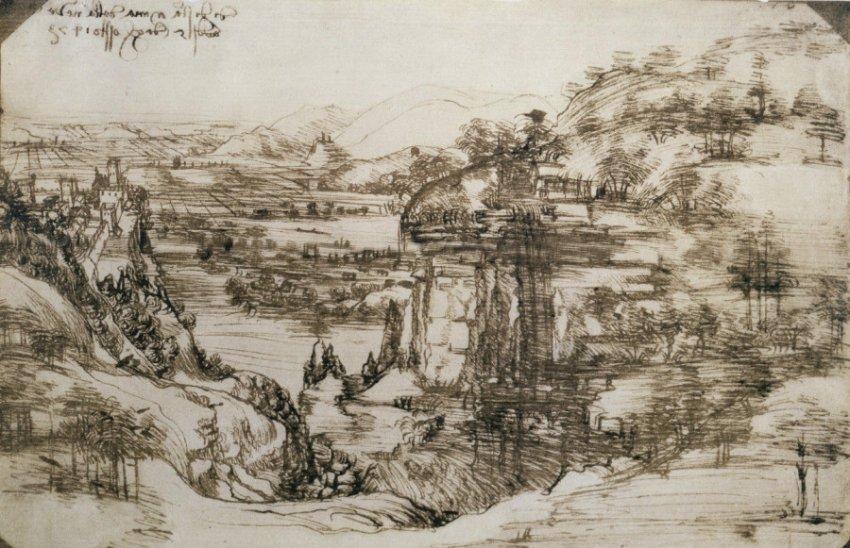 Раскрыт феномен письма Леонардо да Винчи