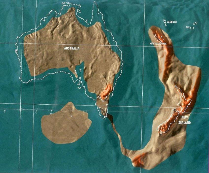 Журнал Forbes опубликовал карты мира после глобального потопа
