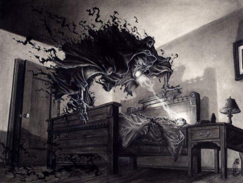 Ночной кошмар или нападение астральных сущностей?