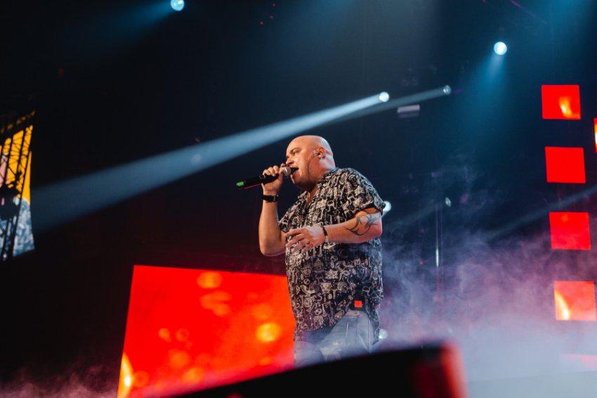 Юрий Шатунов, Лолита, Наташа Королева и Иванушки Intenational на одном концерте