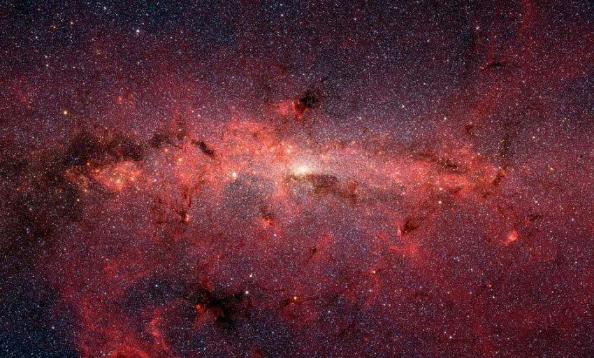 Из нашей галактики пытается «сбежать» звезда