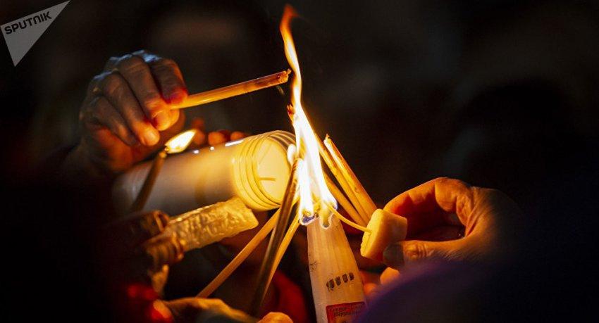 Схождение Благодатного огня – мировая фальсификация