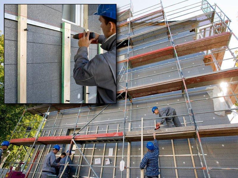 Особенности ремонта и реставрации фасадов зданий