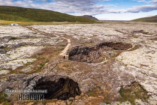 Тайны исландской пещеры Огненного Гиганта