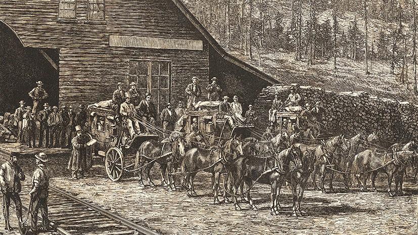 Геноцид индейцев при строительстве первой трансконтинентальной железной дороги