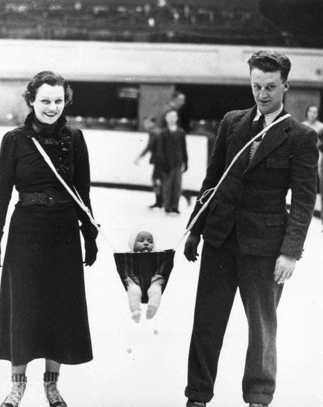10 детских фото из прошлого, глядя на которые современные родители схватятся за голову