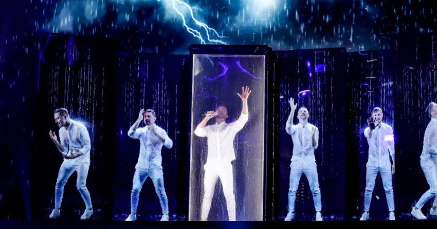 У Лазарева возникли сложности при репетиции номера для Евровидения