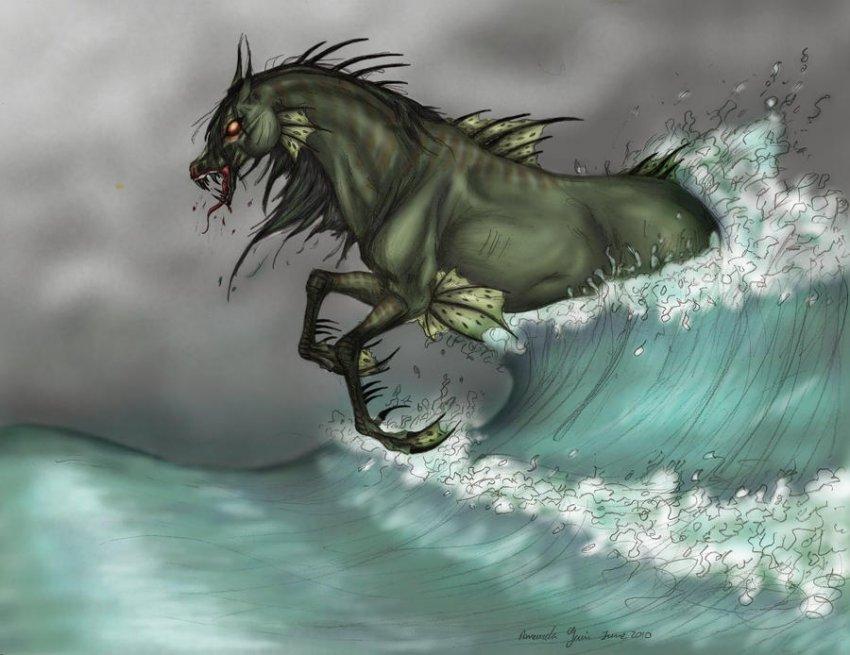 Загадка шотландских водяных лошадей, убивающих людей