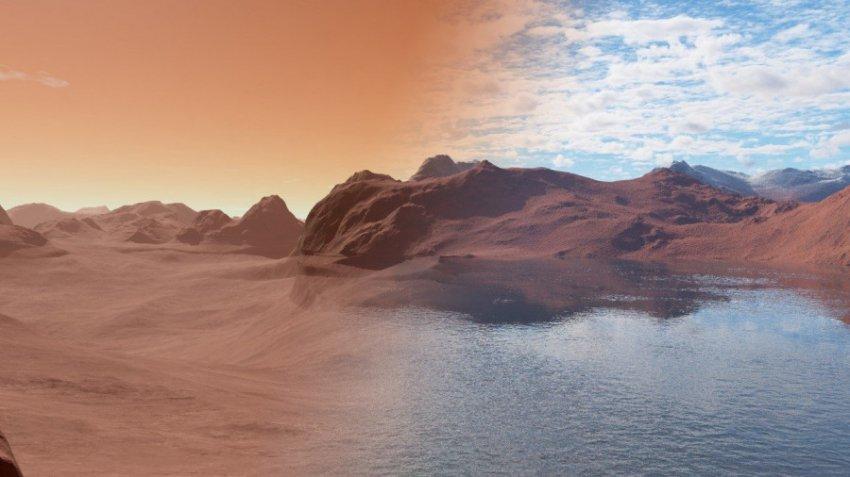 Покорение Марса людьми оказалось под угрозой из-за испарения влаги