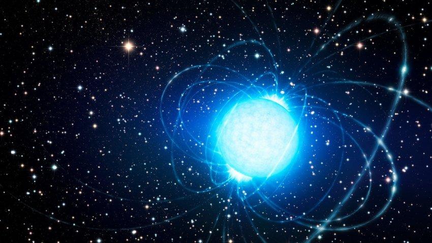 Пробуждение магнетара: нейтронная звезда испускает радиоимпульсы в сторону Земли
