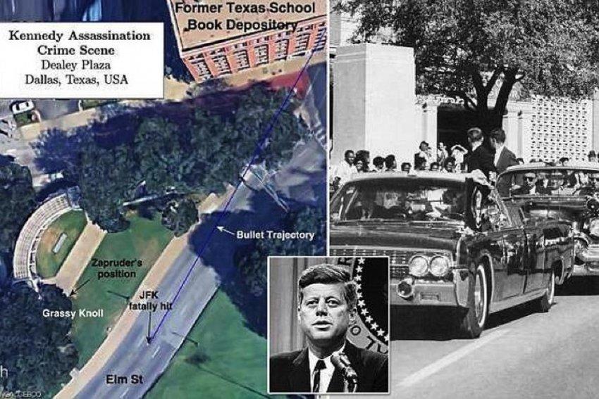Подборка глобальных теорий заговора об убийстве Кеннеди