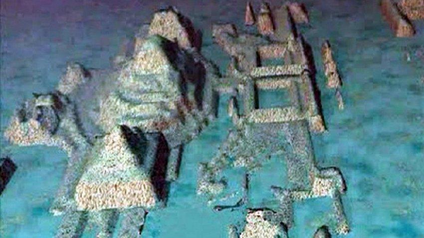 Пирамиды и правильные прямоугольные стены: на дне океана нашли 50000-летний подводный город
