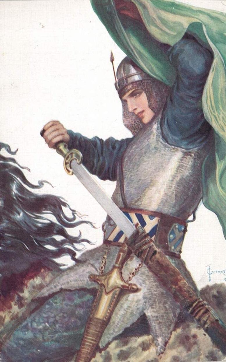 Девы-воительницы в русских былинах