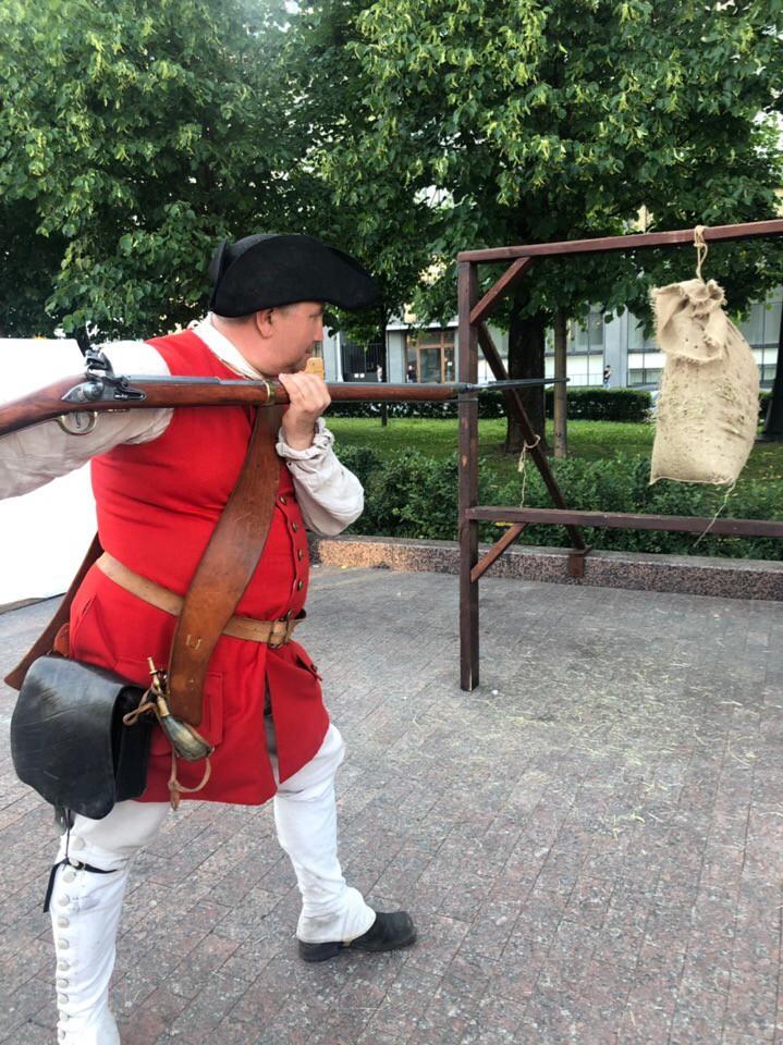 Пушкинская площадь представляет Петровское время на фестивале «Времена и эпохи»