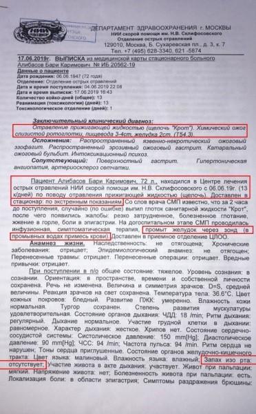 Последние новости Бари Алибасов сегодня, 27 июня: здоровье, состояние сейчас
