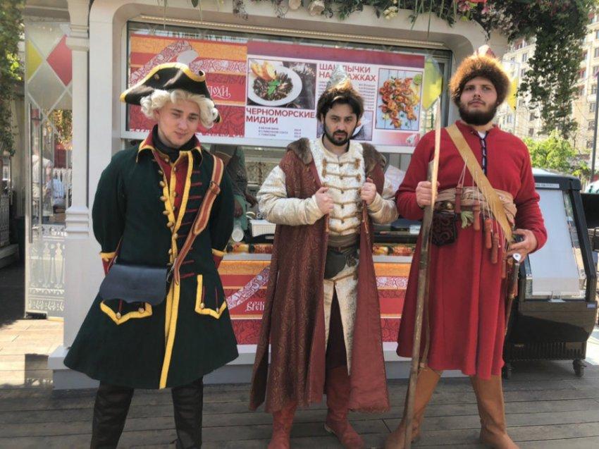 В Москве начался исторический фестиваль «Времена и эпохи»