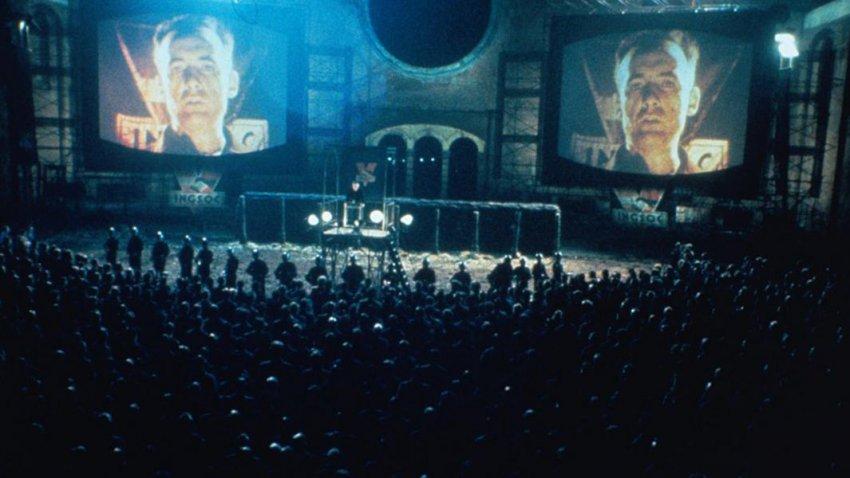 Мир «1984» Джорджа Оруэлла оказался пророческим и сбылся