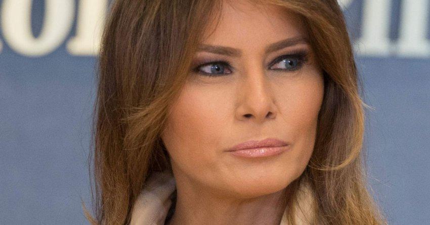 Улыбка и густой макияж: как Мелания Трамп скрывает перебор с пластикой, из-за чего глаза выглядят странно
