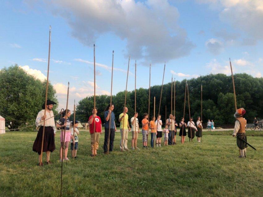 Парк «Коломенское» превратился в Средневековье на фестивале «Времена и эпохи»