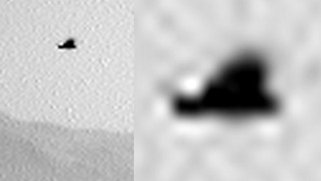 Птица на Марсе: марсоход Curiosity запечатлел живое существо