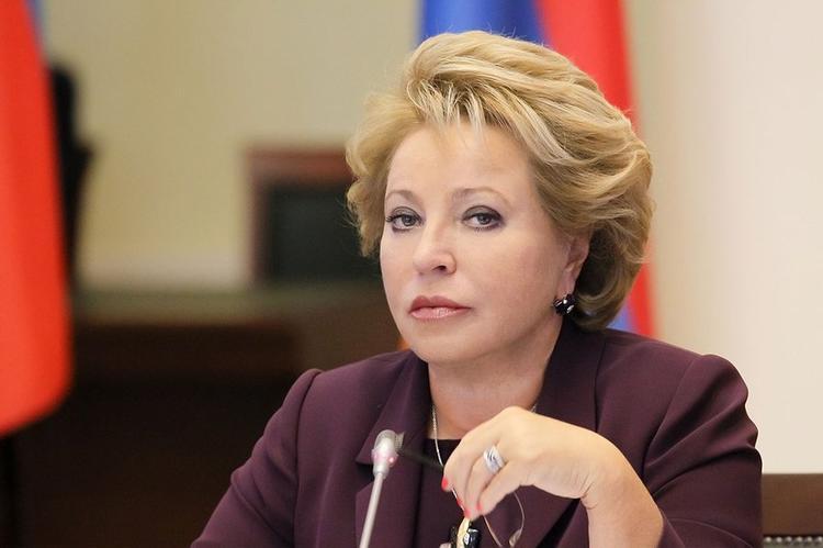 Валентина Матвиенко хочет спасти человечество