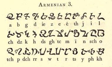 Пантография: Копии алфавитов славянских языков